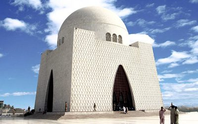 MAUSOLEUM OF JINNAH