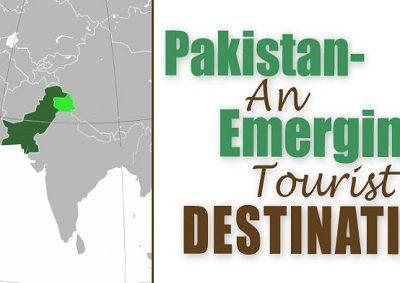 Pakistan an emerging tourist destination