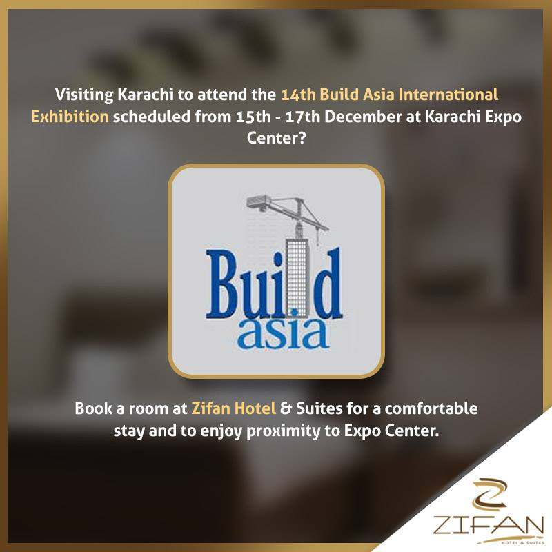Hotel for Build Asia International Exhibition